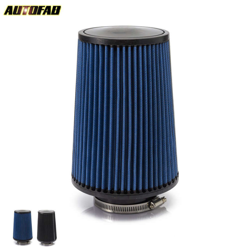 "2PCS 4/"" Universal Air Filter for Twin Turbo Short Ram Intake Carbon Fiber"