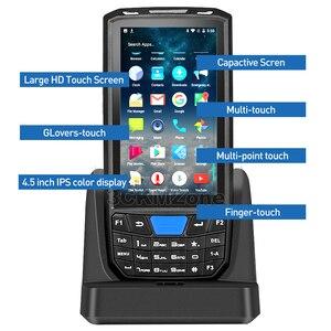 Image 2 - Android 8.1 przemysłowy wytrzymały PDA ręczny Terminal płatniczy laserowy skaner kodów kreskowych wsparcie bezprzewodowy WiFi 4G BT dla magazynu Express