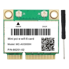 Wireless-Card AX200 Bluetooth 5.1 Mini Wifi 6 Pci-E-Interface Dual-Band 3000mbps 5G Universal