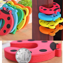 Door-Stopper Wall-Protection Children 5-Pc Shockproof Drop-Ship Savor Colorful Silicone