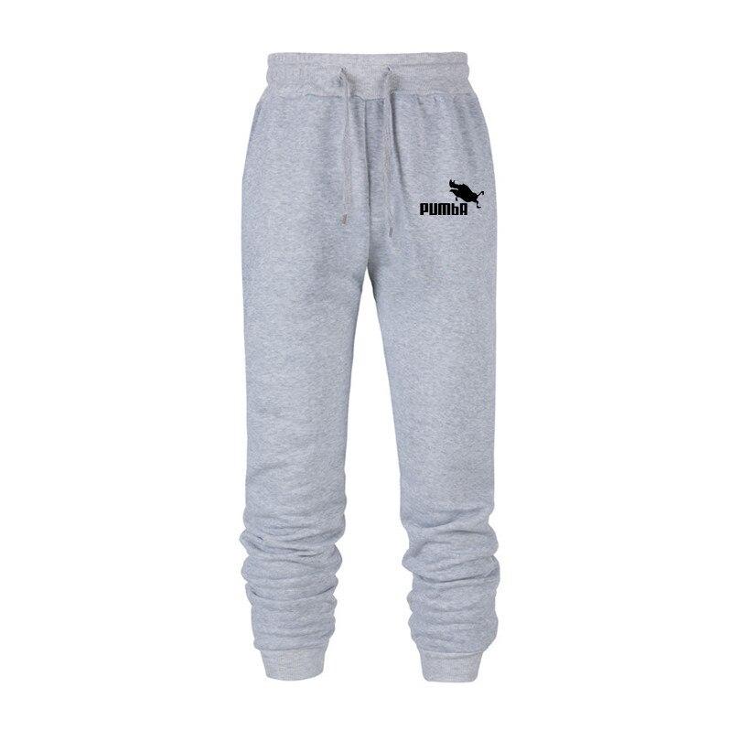 2019 MEN'S Casual Pants Pumba Printed Autumn Hip Hop Sports Sweatpants Fliggy Boar Spoof 3XL