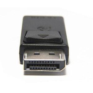 Image 4 - عرض ميناء DP ذكر إلى HDMI شاحن أنثي أسود عالية الجودة Dp لتحويل Hdmi للكمبيوتر HDTV