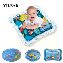 Baby Mat Playmat Gym Floor Toys For Children Kids Baby Carpet Play Mat Rug Crawling Inflatable Water Cushion Square Triangle Toy цены онлайн