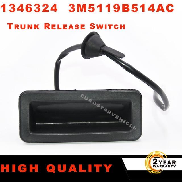 1346324 arka bagaj açma serbest bırakma düğmesi Ford Focus için C MAX kap 2003 2007 kabin 3M51 19B514 ACRIOLET CA5 2006 2010
