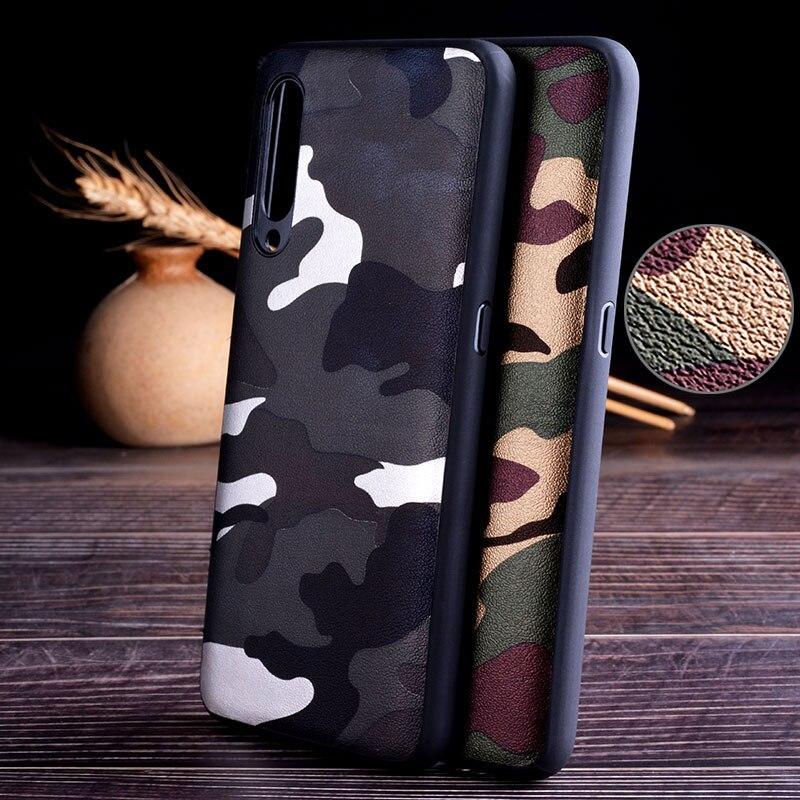 Camouflage Case For Xiaomi Mi9 SE Mi 9 Lite Mi9t Mi 9T Pro Mi8 A1 A2 A3 Note 3 10 Mix 2S Redmi 7 7A 8 8A 6 6A 5 8 Pro 8T K30 5G