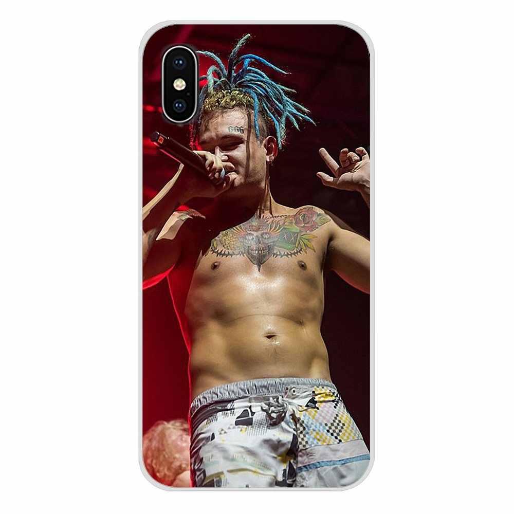 Para iPhone X de Apple XR XS 11Pro MAX 4S 5S 5C SE 6 6S 7 7 Plus ipod touch 5 6 MORGENSHTERN rapero accesorios cubiertas de los casos del teléfono