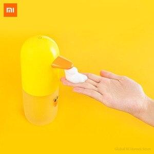 Image 1 - Xiaomi MiJia автоматический набор для мытья рук линия Салли индивидуальные Millet индукционный дозатор мыла ручная стиральная машина