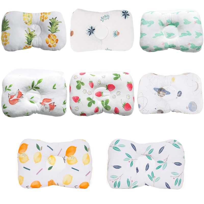 Infant Nursing Pillow Anti Roll Baby Pillow Head Protection Cushion Baby Bedding Toddler Sleep Positioner For Kids