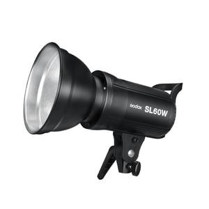 Image 4 - Godox 3x SL 60W beyaz versiyonu stüdyo LED sürekli fotoğraf Video işığı + 3x1.8m ışık standı + 3x60x90cm Softbox led ışık kiti