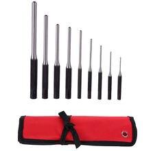 Комплект из 9 предметов удар круглый штук roll пробойником набор