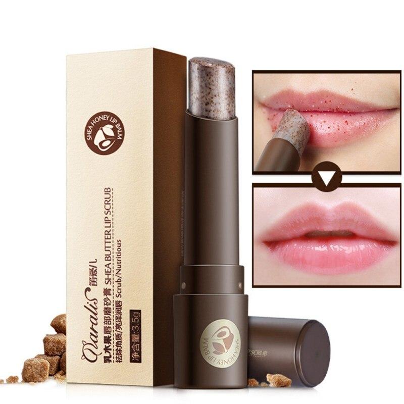 Women Girls Lip Beauty Care Moisturizing Full Lips Cosmetics Remove Dead Skin Lip Care Exfoliating Lip Scrub lip mask