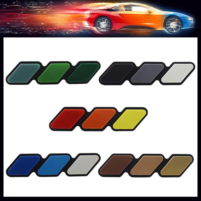 3D трехцветный 3 решетка трехцветный 3 Передняя решетка автомобиля табличка решетка бейдж с эмблемой grill для Tacoma 4runner Tundra Rav4 Highlander