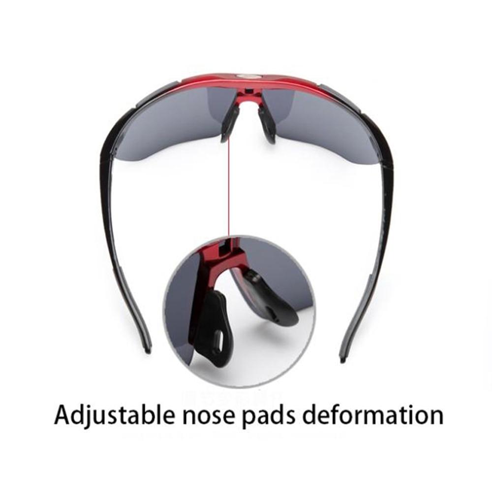 Купить с кэшбэком AIELBRO Cycling Sun Glasses Outdoor Sports Bicycle Glasses Men Women Bike Sunglasses 29g Goggles Eyewear 3 Lens