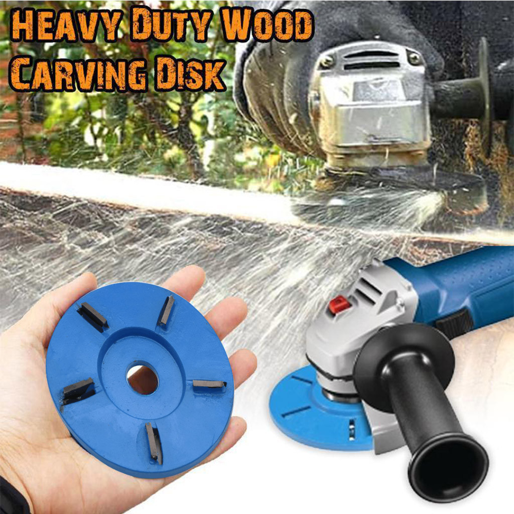 Woodworkings Turbo Plane 16mm For Aperture Angle Grinder Wood Carving Cutter 1pc