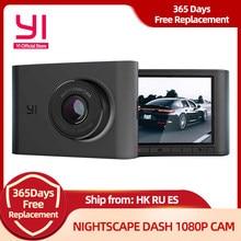 YI — Caméra embarquée voiture avec vision nocturne HD 1080P grand angle 140, écran LCD de 2,4 pouces cette dash cam DVR étonne par ses fonctionnalités, enregistreur tableau de bord