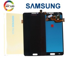 Super AMOLED LCD For Samsung Galaxy Note3 Note 3 N9005 Phone LCD Display Touch Screen Digitizer Assembly Brightness Adjustment original lcd screen display with touch digitizer and front frame assembly for samsung galaxy note 3 n9005 ship by dhl ems