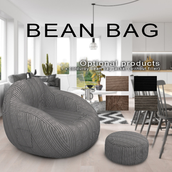 Large Lazy Sofas Cover Chairs without Filler Linen Cloth Lounger Seat Bean Bag Pouf Puff Couch Tatami Living Room