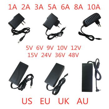 5V 6V 9V 10V 12V 15V 24V 36V 48V 1A 2A 3A 5A 6A 8A 10A adapter do zasilacza oświetlenie konwerter transformatora do taśmy led tanie i dobre opinie 0-5A 50-60HZ LJH-168 Pojedyncze 1-50 w
