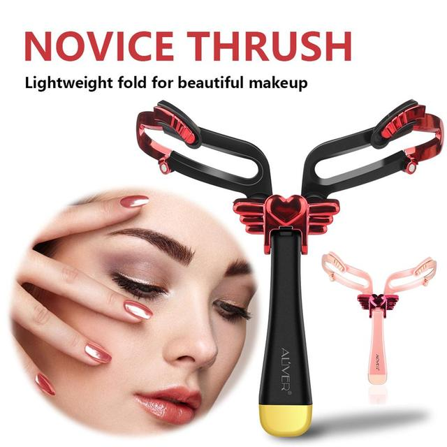 3D Eyebrow Measuring Tools Eyebrow Stencil Reusable Handheld 3 In 1 Eyebrow Template Shaping Tool Makeup Accesorie