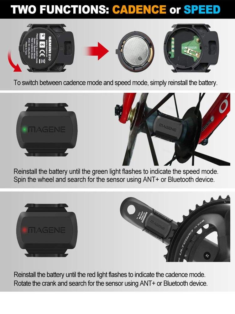 Image 3 - cycling Magene Mover H64 Dual Mode ANT+ & Bluetooth 4.0 Heart Rate Sensor With Chest Strap Computer Bike Wahoo Garmin Sportscycling antcycling sensorant sensor -