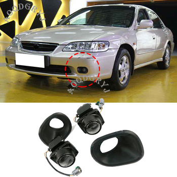 1 pair Front Bumper Fog Light Lamp For Honda Accord Sedan 1998-2002 Car styling accessories