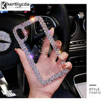luxury Rhinestone Phone Case For Apple iPhone 6 6S 7 8 11 Pro X XR XS MAX cases acrylic Diamond Clear Crystal cover coque funda