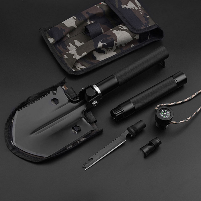 Folding Shovel Professional Outdoor Survival Tactical Multifunctional Shovel Folding Tools Garden Camping Equipment Army Tool