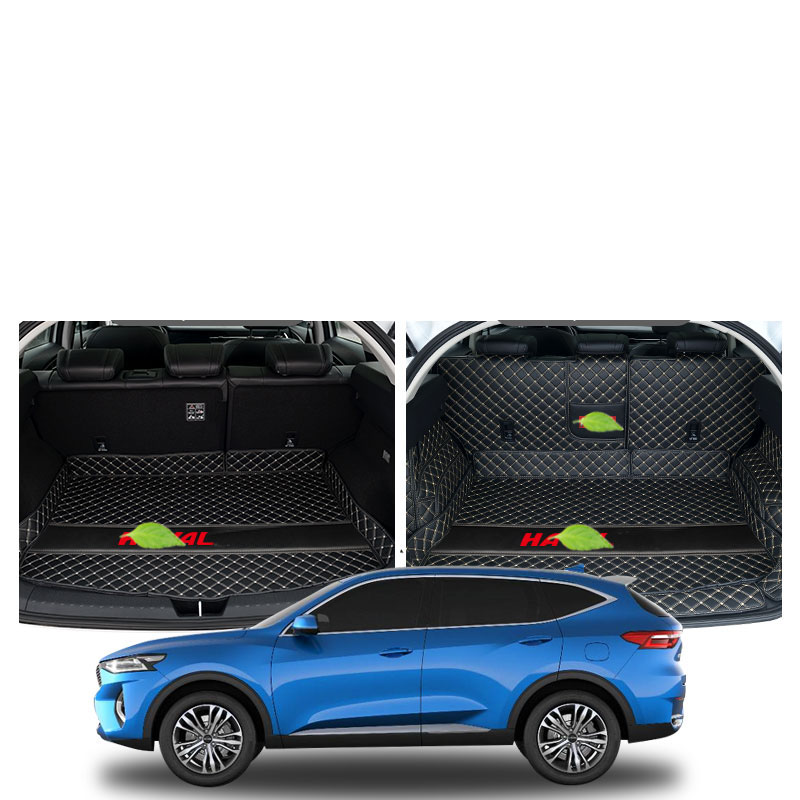 Lsrtw2017 TPE XPE Luxury Car Anti slip Trunk Mat for Great Wall Haval F7 2011 2020 2017 2018 2019 F7X in Interior Mouldings from Automobiles Motorcycles