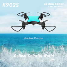 NEW Drone 4K K902S Five Color Shell High-Definition Four  Folding Shaft Aircraft Aerial  with Packag Drone Toys 4K With Camera