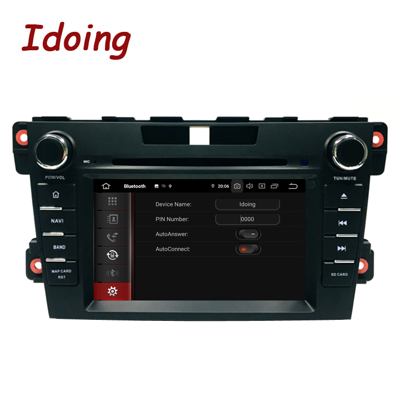 Image 2 - Idoing 2Din Steering Wheel Android 9.0 Fit mazda cx 7 CX 7 CX7 Car DVD Player 8Core 4G+64G GPS Navigation IPS Screen WiFi OBD2car dvd playerdvd car playermazda cx7 android -
