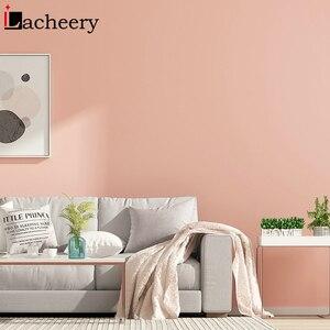 Image 2 - Düz renk hareli su geçirmez kendinden yapışkanlı duvar kağıdı oturma odası için çocuk odası vinil yapışkan kağıt yurt odası dekor