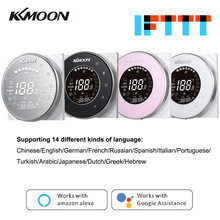 KKmoon Smart Digital Water/Gas Boiler Heating Thermostat WiFi Voice Control Touchscreen LCD Display Room Temperature Controller(China)