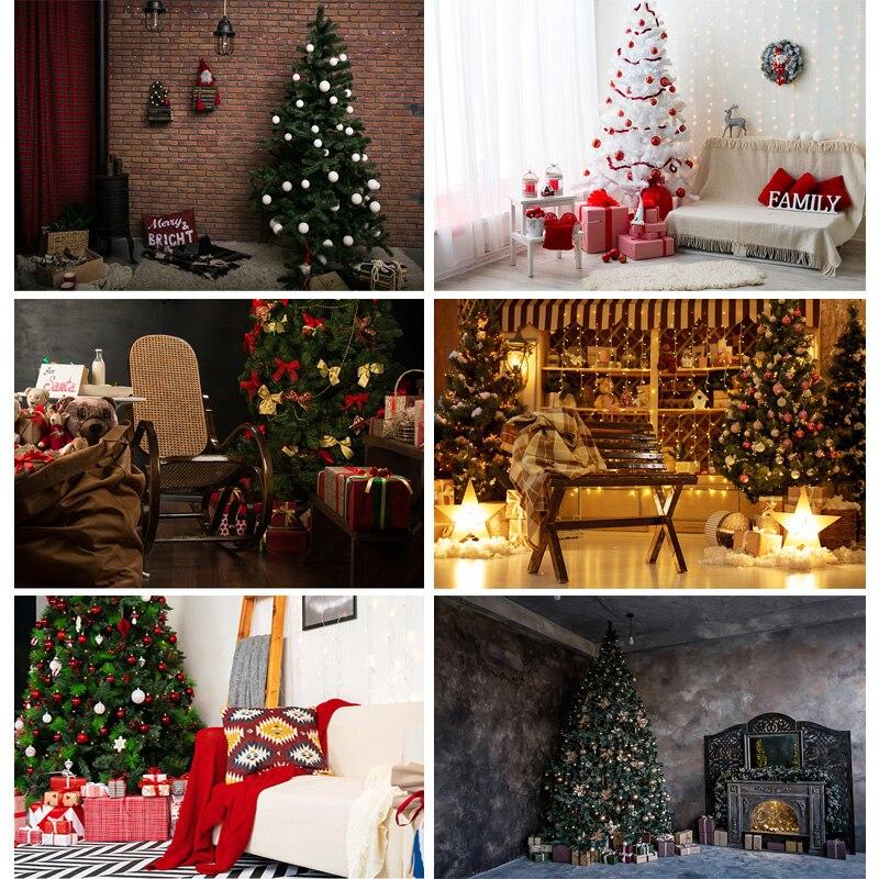 Купить фон для студийной фотосъемки shengyongbao с изображением рождественской