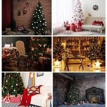 Фон для студийной фотосъемки shengyongbao с изображением рождественской