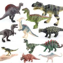 15cm Small Dinosaur Models toys Jurassic Tyrannosaurus Indominus Rex Triceratops Brontosaurus 13 styles Dinosaur Model toys