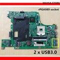 Материнская плата B590 PGA989 HM77 с дискретной графикой GT620M  подходит для ноутбука Lenovo B590