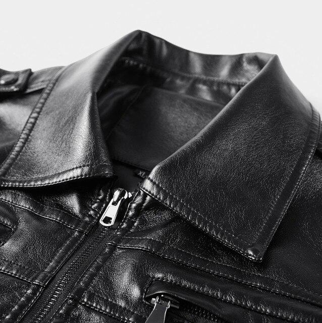 Leather Biker Jacket 5