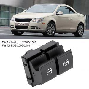 Window Switch car power switch Electric Window Master Switch 1K3 959 857A Fits for Caddy 2K 2003-2009 EOS 2003-2008 B6 2005-2010