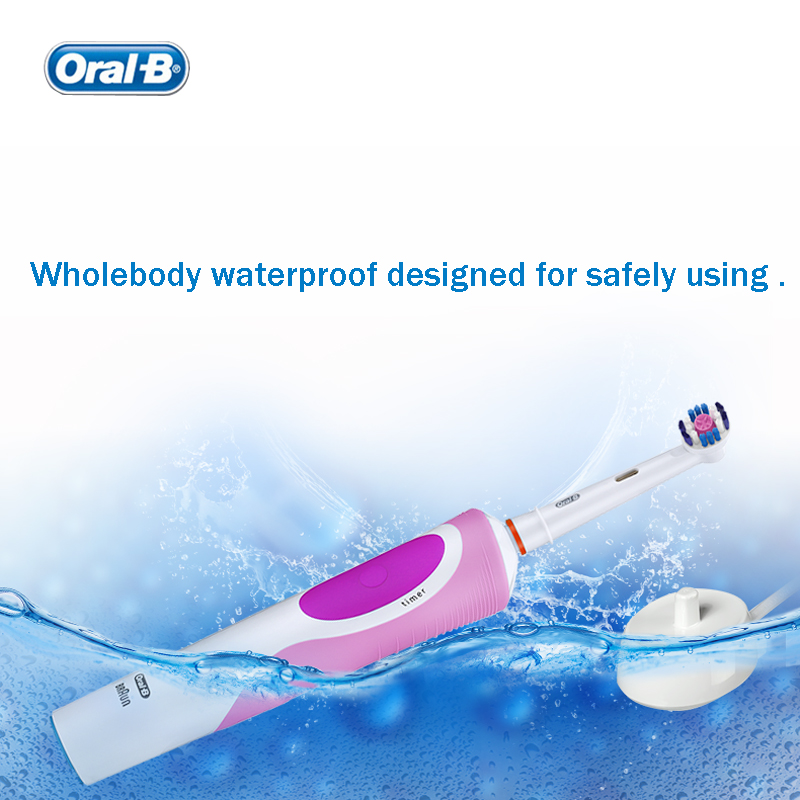 Oral B Vitality Electric Toothbrush Rotating Rechargeable Smart Tooth brush Head Replaceable Teeth Whitening Healthy Best Gift