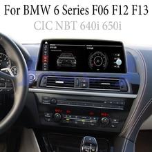 Per BMW 6 F06 F12 F13 M6 S63 CIC NBT 640i 650i iDrive Car Stereo Audio Accessorie di Navigazione GPS Navi radio CarPlay 360 BirdView