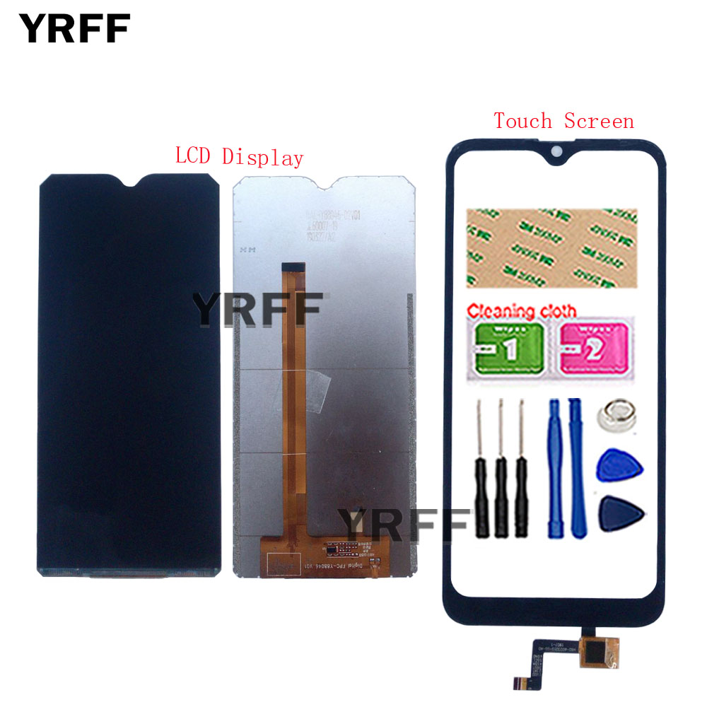 Mobile LCD Display Touch Screen For Doogee Y8C Y8 C Touch Screen LCD Display Sensor TouchScreen Assembly Repair Mobile Tools