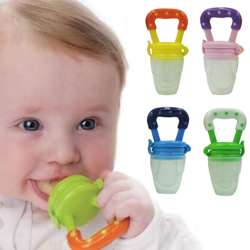 Feeding Child Baby Safe Non-toxic Food Supplement Fruit Feeder Baby Pacifier Fresh Fruit Food Supplement Child Feeding Pacifier