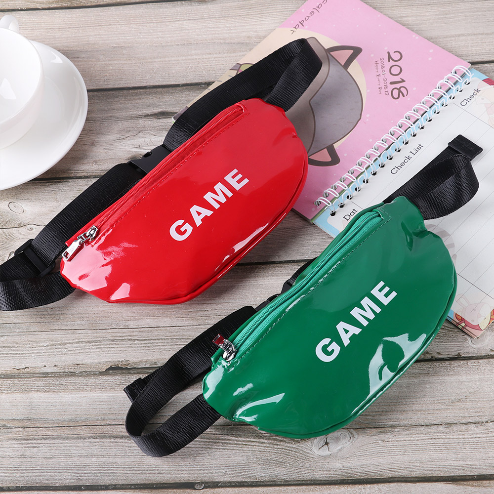 2020 New HOT Cute Colorful Children Waist Packs Kids Fanny Fashion Packs Boy Girl Money Crossbody Chest Belt Bag Gifts Dropship
