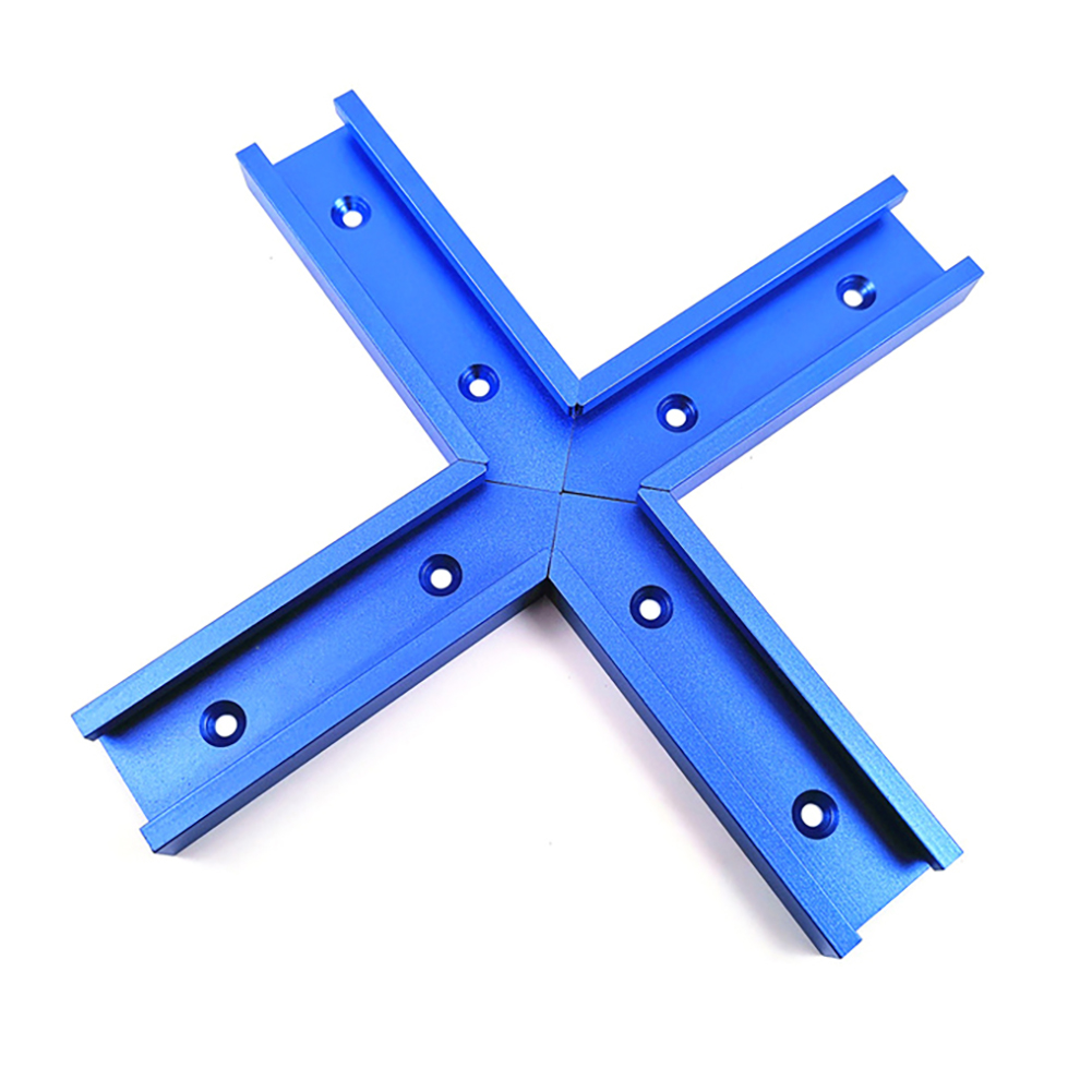30 Type T-Track Woodworking Tool Track Jig Intersection Chute Aluminum Slot Miter  For Electric Circular Saw Flip Table Tools