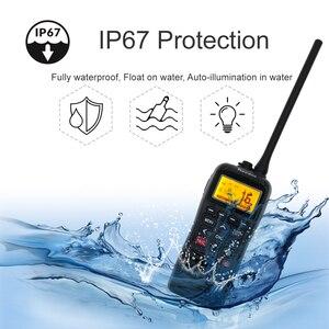 Image 3 - Recente RS 38M Vhf Radio Ingebouwde Gps 156.025 163.275 Mhz Float Transceiver Tri Horloge IP67 Waterdicht walkie Talkie