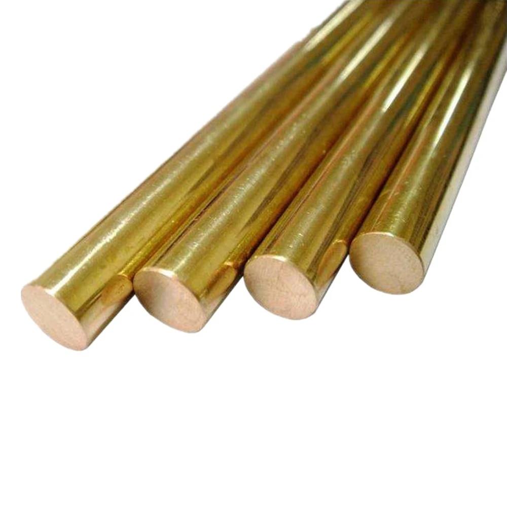 5pc Φ8mm H62 Brass Round Rod D8mm Any Length Solid Lathe Bar Cutting Stock Metal