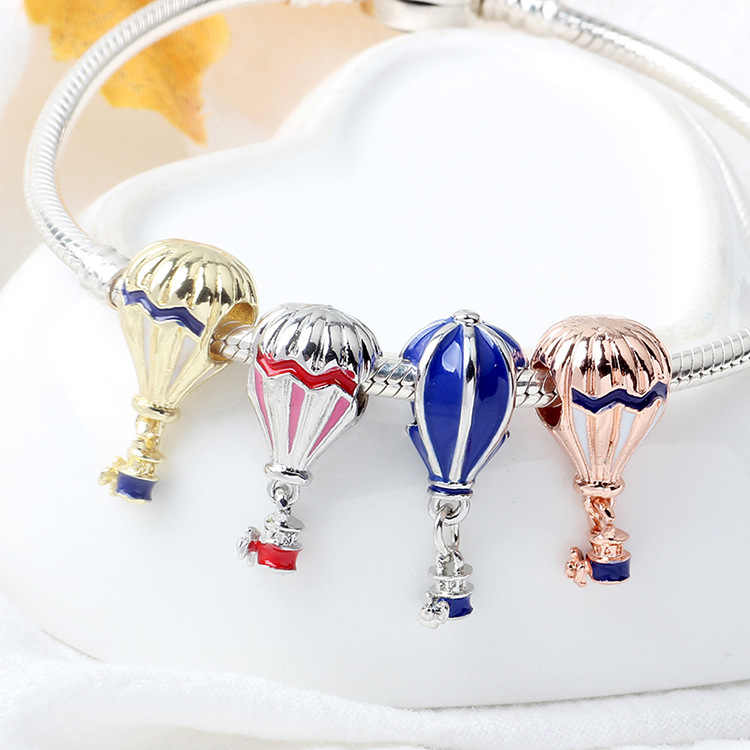 Mingshang wholesale 2019 new arrive DIY jewelry charm beads fit to charm chain  bead for women bracelet making jewelry