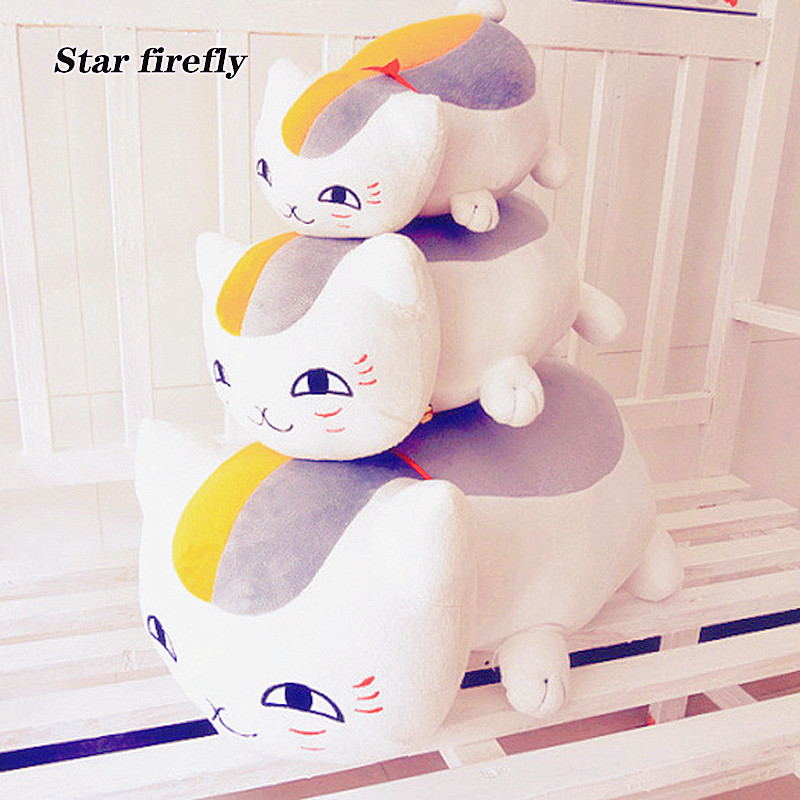 70cm Soft Plush Toys Natsume's Book Of Friends Japanese Anime Natsume Yuujinchou Nyanko Sensei Cat Action Figure Model Toy Gifts