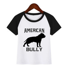 Kids T-Shirt Children Summer Short Sleeve America Bully T-Shirts for Boys Girls Clothes Baby Boy T Shirt Toddler Tops boys girls t shirt baby boy clothes kids long sleeve t shirts for girls children animal duck pattern