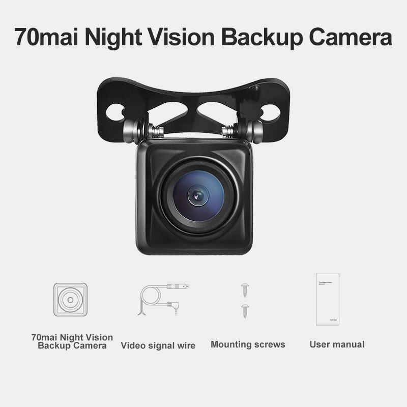 Резервная камера 70mai для камеры заднего вида 70mai Wide: RC04 70mai HD резервная камера/RC05 70mai резервная камера ночного видения